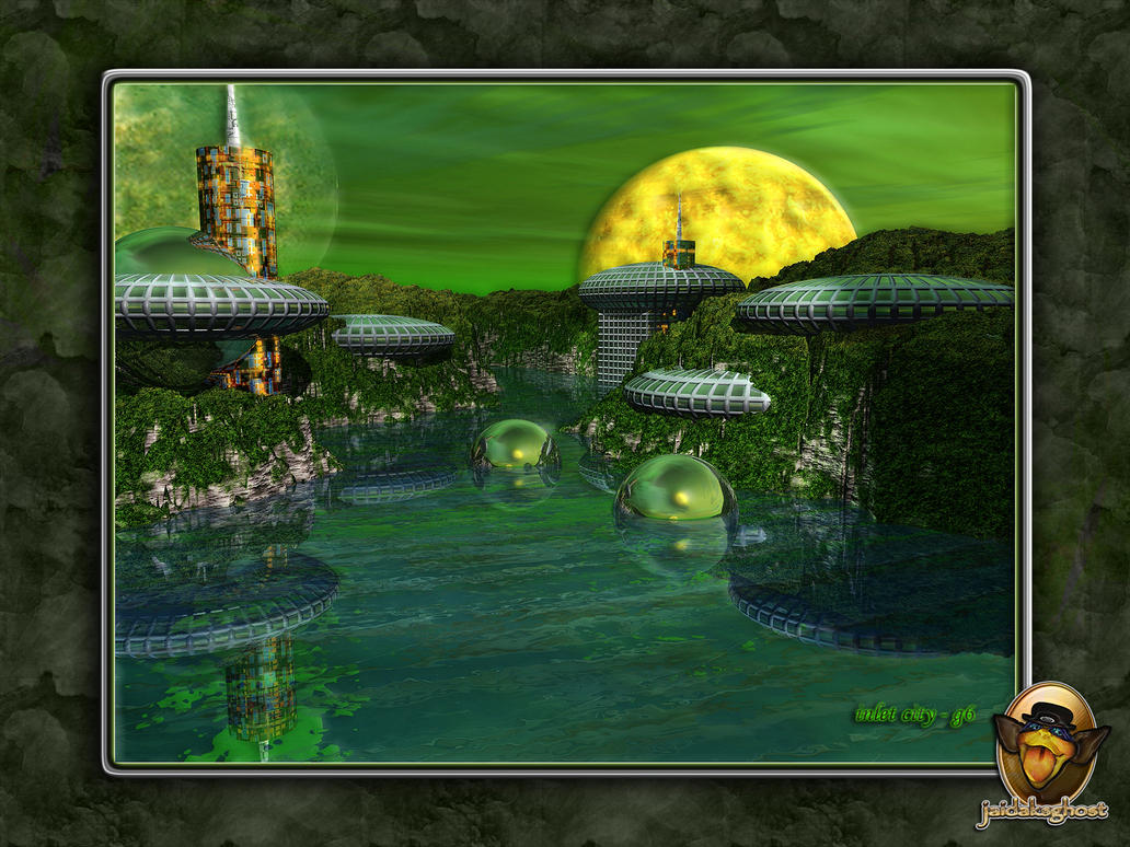 inlet city g6 - garden by jaidaksghost
