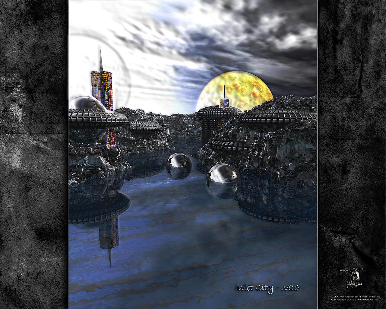 inlet city - very dark by jaidaksghost