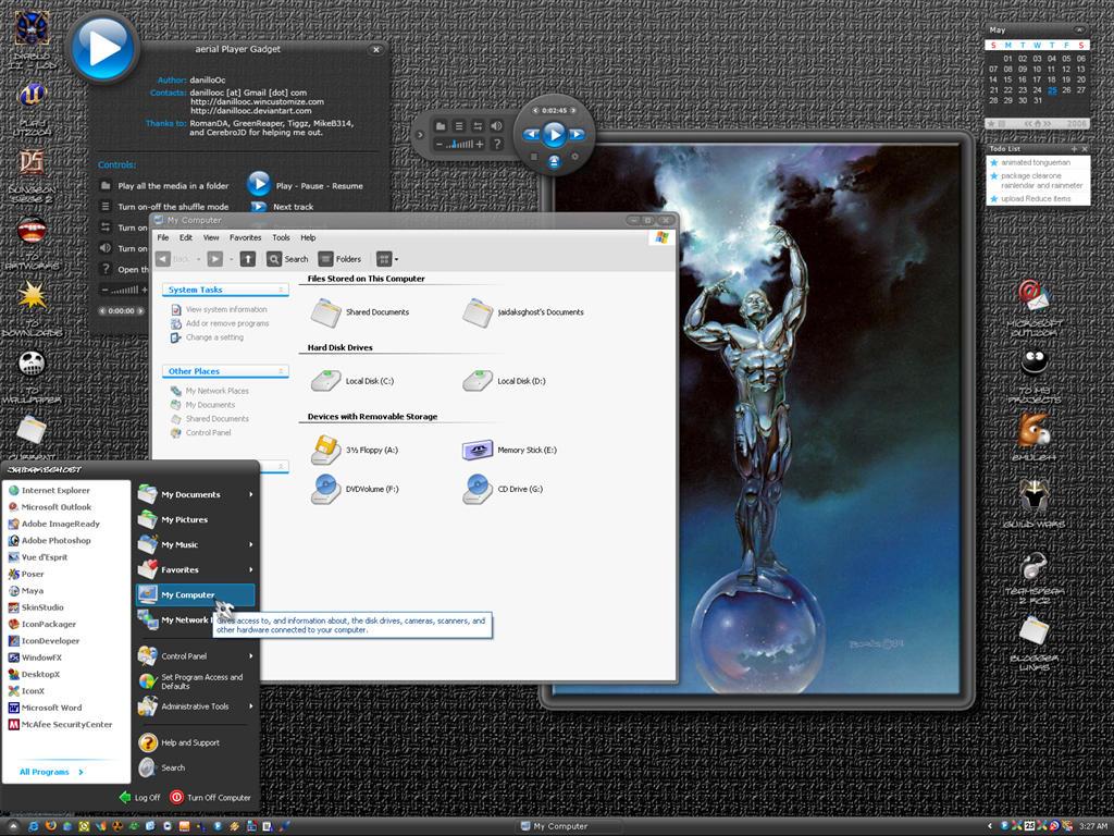 Aerial Desktop for JGhost by jaidaksghost