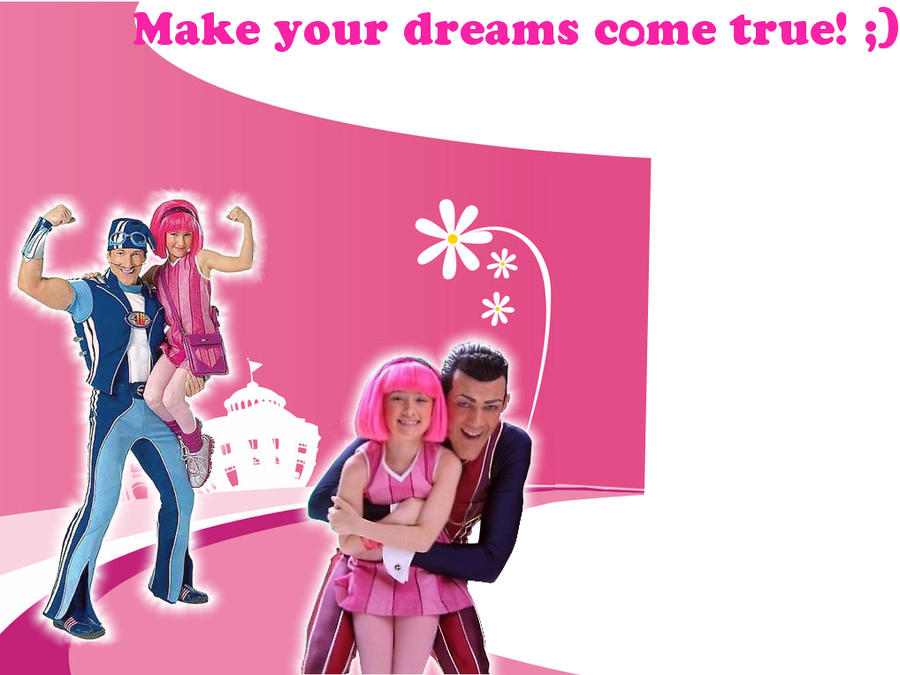 For that Stephanie panty lazy town