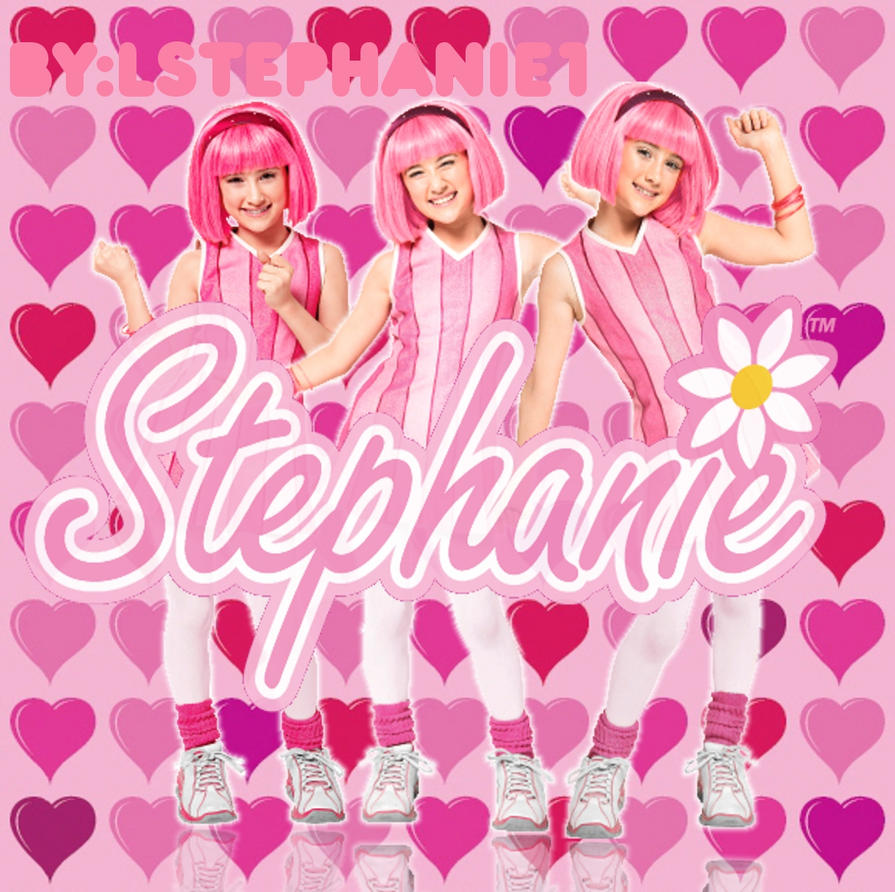 Consider, that Stephanie panty lazy town have appeared