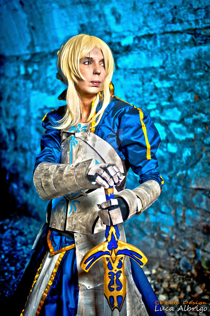 Arturia Pendragon is Saber by Creati-da-me