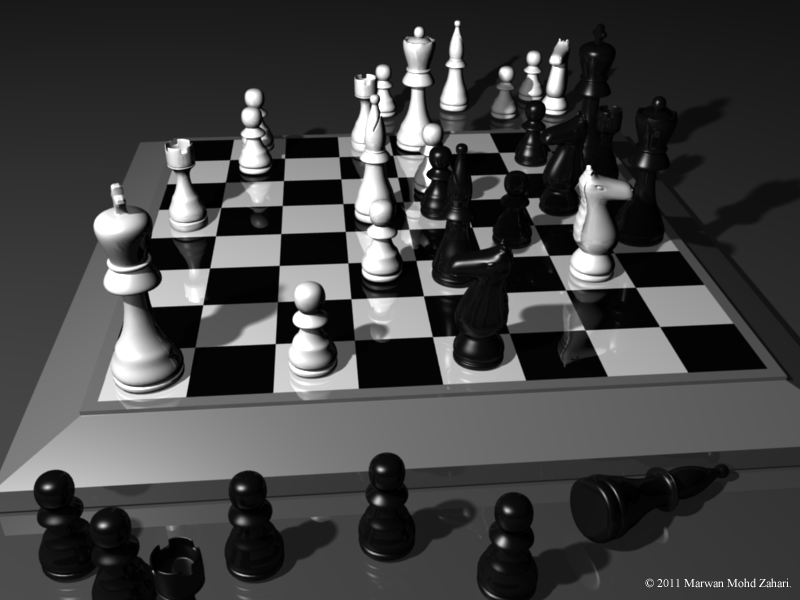 3d Chess Art Images