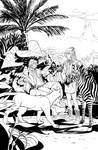 Not-Very-Alien Jungle by ceesoo