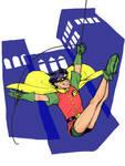Stamp Series - Robin I