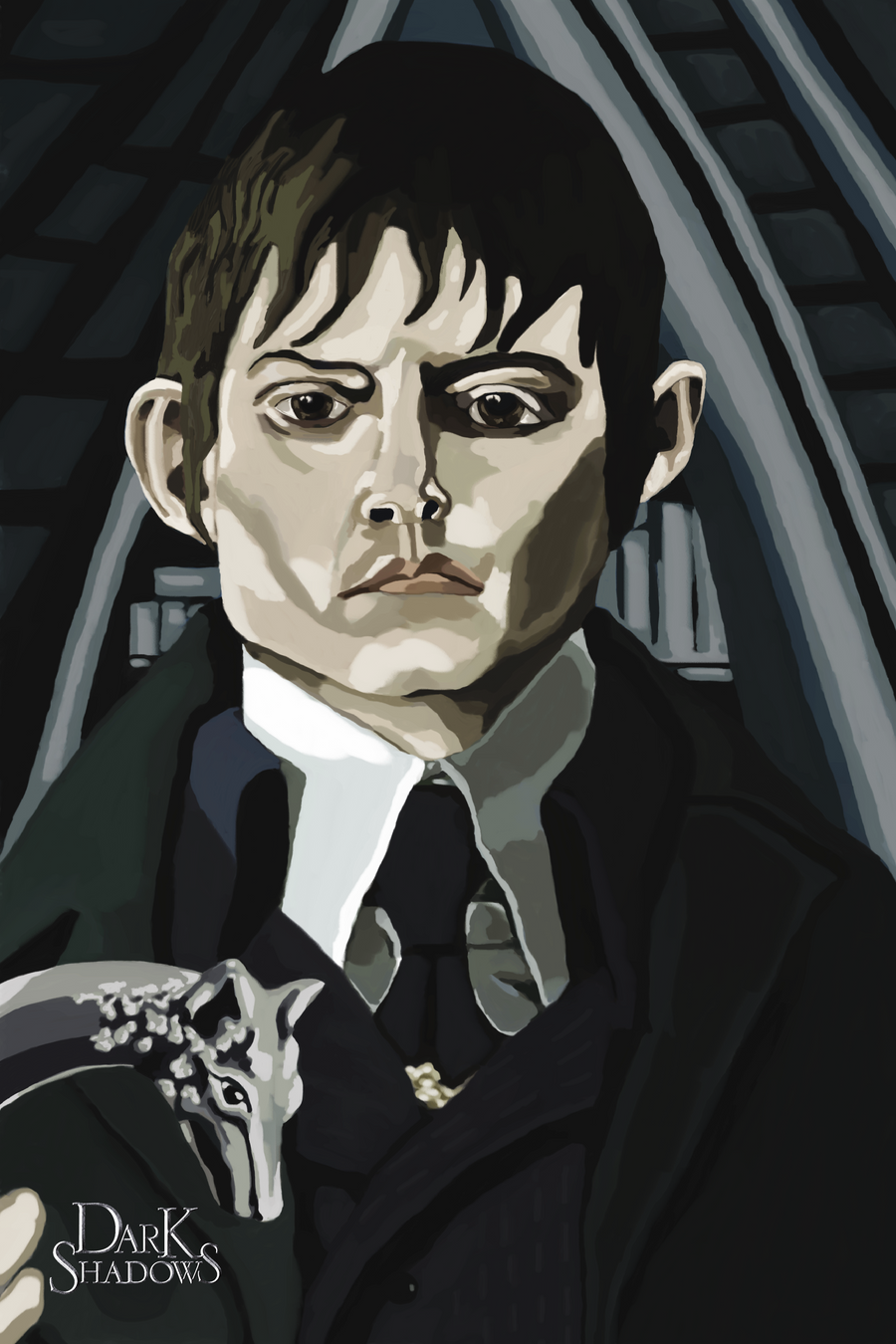 Barnabas Portrait by wildjellybeans