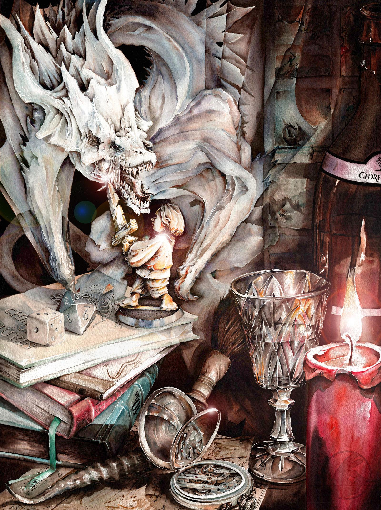 Cidre et Dragon   Proposition Affiche 2016 by UnAutreLapin