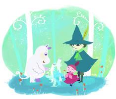 Moomin by nanibott