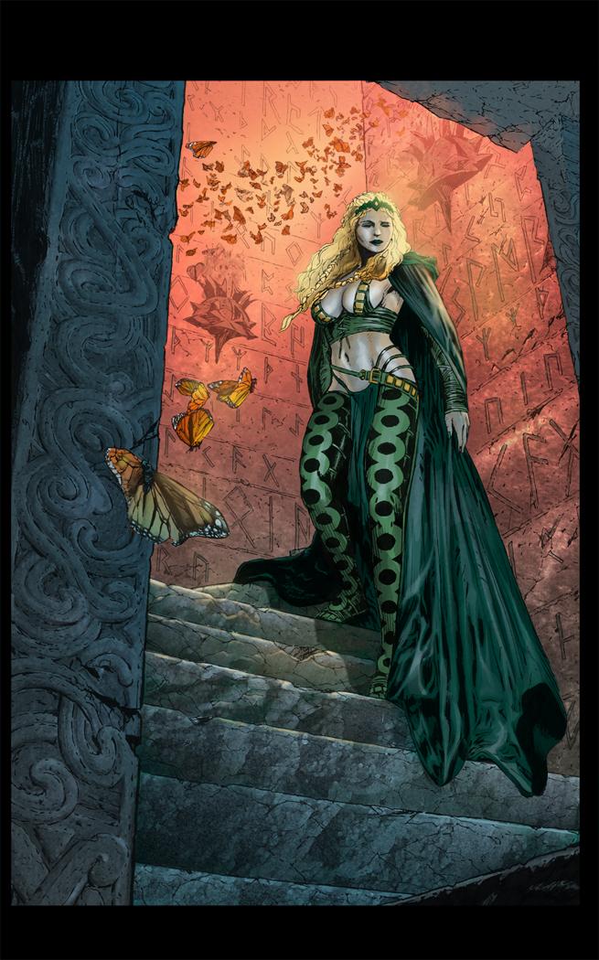 The Enchantress by DigitalSerrano