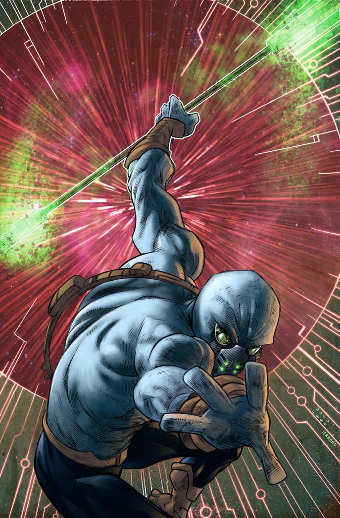 Zen Intergalactic Ninja by DigitalSerrano