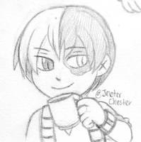 Chibi Sketch CM: Todoroki by JevsterChester