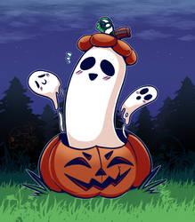 Ghost In A Pumpkin