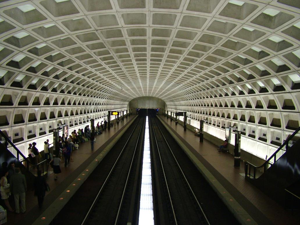 Pentagon City Metro by realPhixion