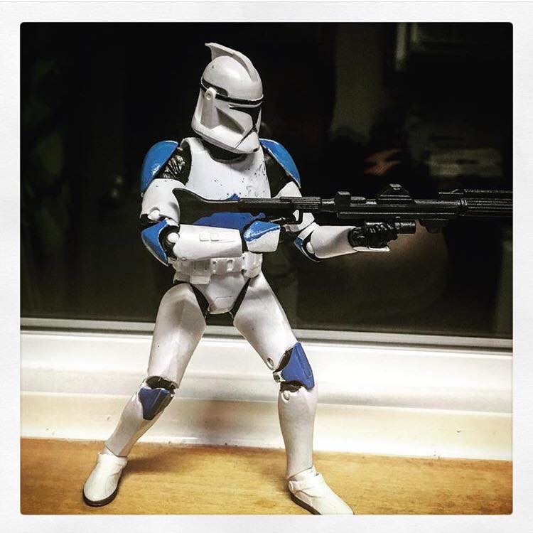 Clonetrooper (First Attempt) by Greed697