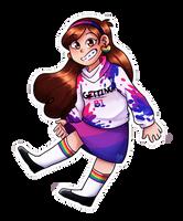 Pride Mabel! by littleblueartist