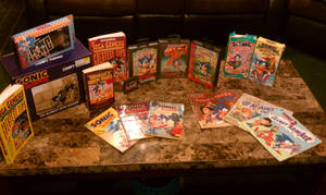 +My Sonic Collection+ part 3. by SonicMayhem950