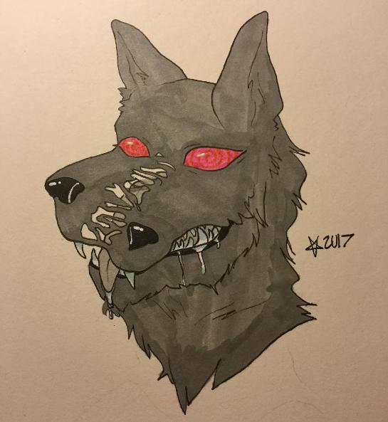 Goo Wolf by A0erospace