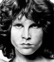 08.02.11 Jim Morrison by Wojtky
