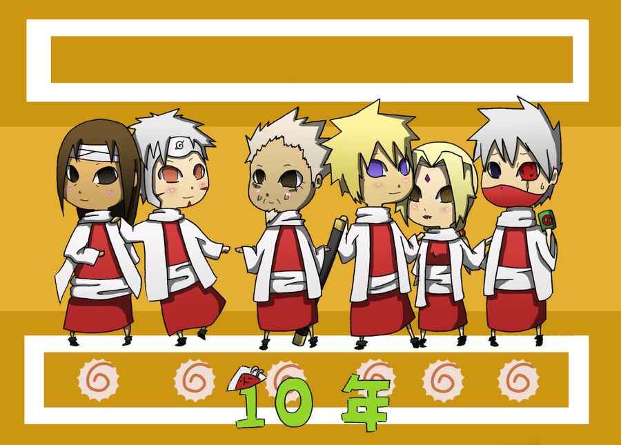 10 Years of Hokage Awesomeness by blindleap on DeviantArt