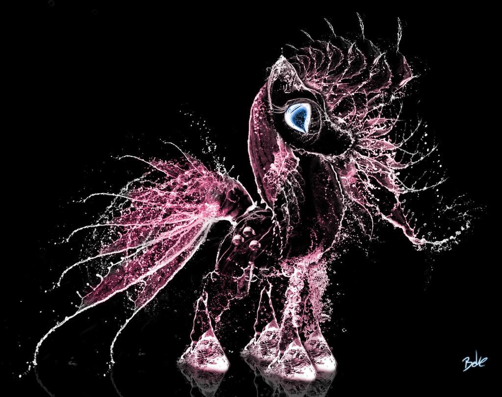 Water PinkiePie (Special) by B-O-K-E