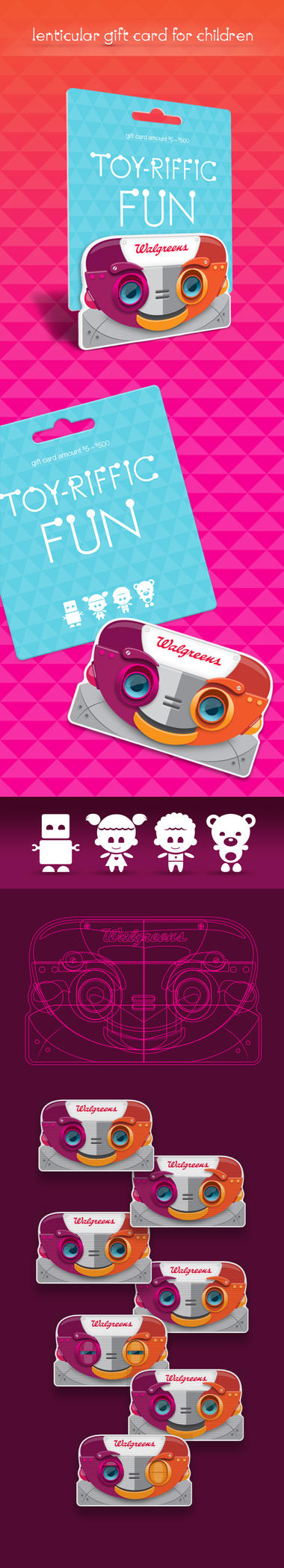 RobotCard byLaDell by LaDell