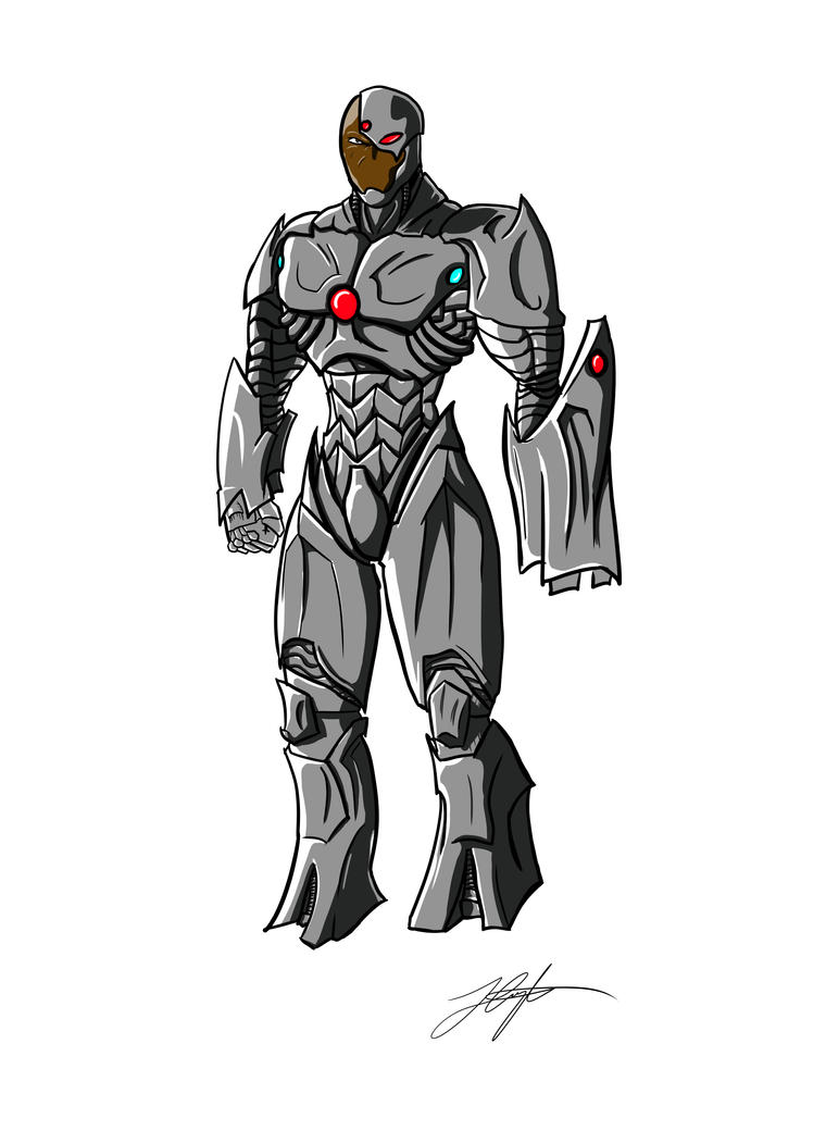 DC Cyborg by jerminfested