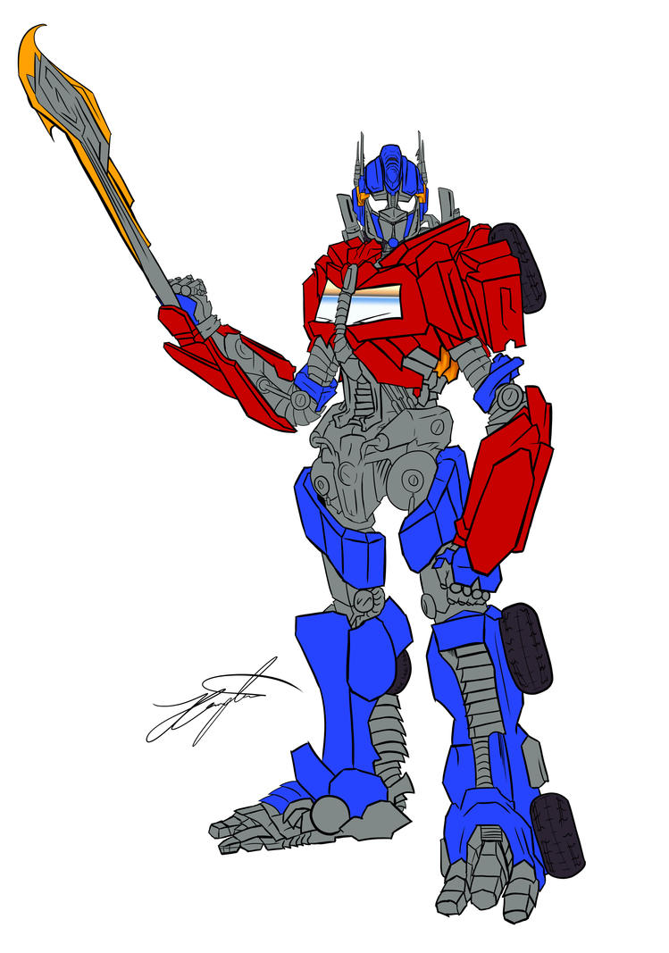Optimus Prime by jerminfested