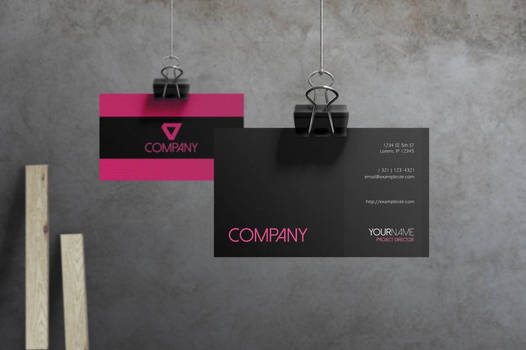 Flare - Corporate Business Card