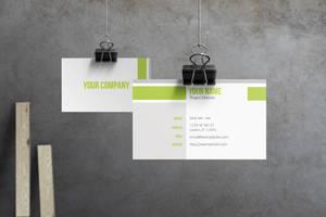 Evo - Corporate Business Card by macrochromatic