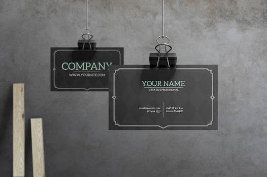 Prestige - Retro Business Card by macrochromatic