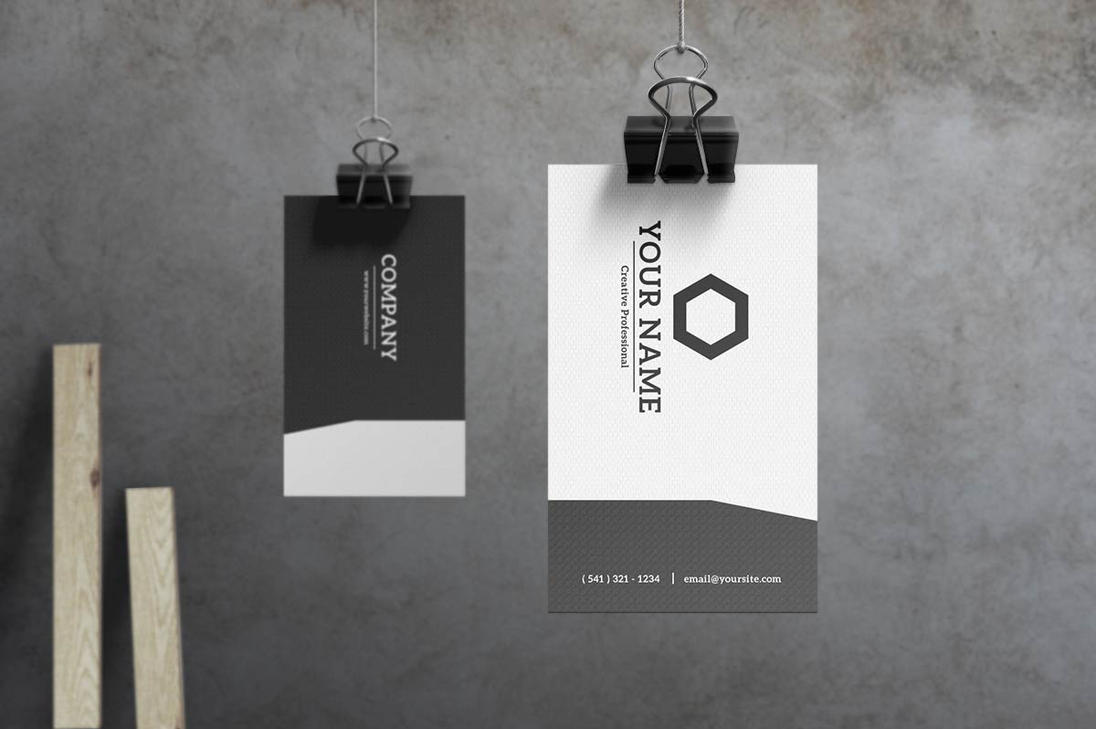 Slate - Modern Business Card by macrochromatic on DeviantArt
