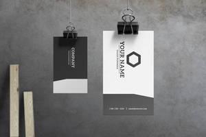 Slate - Modern Business Card by macrochromatic