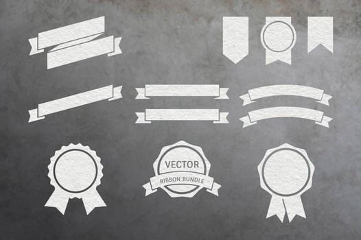 Vector Ribbon Pack Vol. 1 by macrochromatic