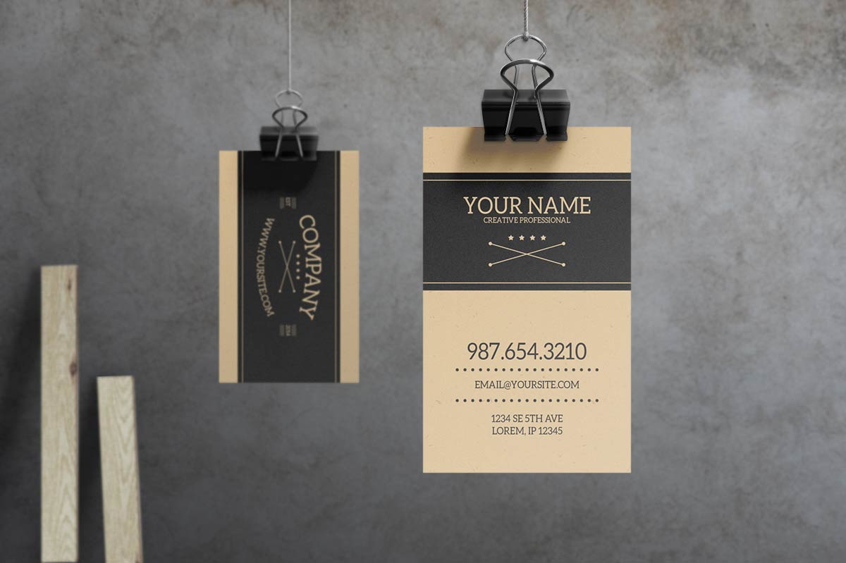 Sabre - Vintage Business Card Template by macrochromatic on DeviantArt