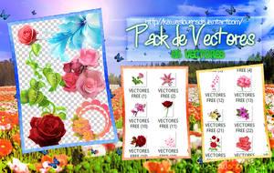 +PACK DE VECTORES POR +100 WATCHERS GRACIAS!!! by kawaslovers