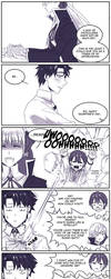 Fate - A new sempai approaches by yumekage