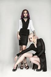 Myself and Kristen Leanne by KybeleModel