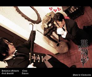 Kuroshitsuji: Grell's love by ChinkyAiko