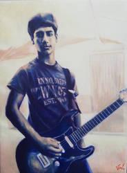 Portrait of Alejandro by JulenW
