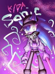 K/DA Akali costumes x Sonic by CYAN-STAR03