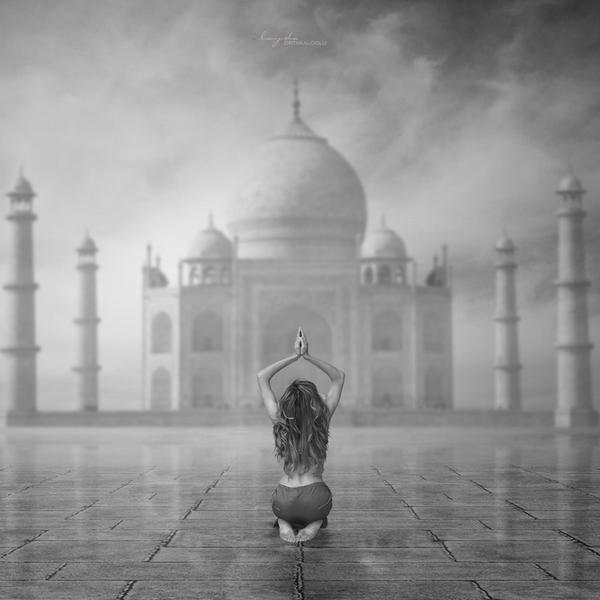 Taj Mahal || Pray by IlaydaPortakaloglu