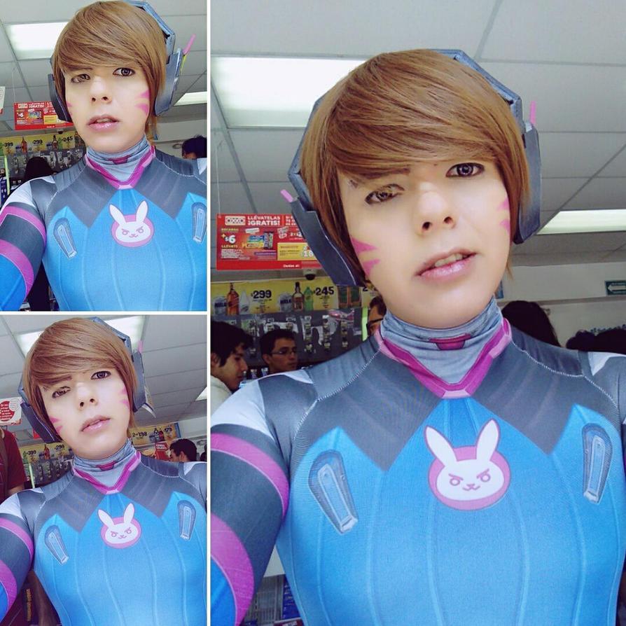 Cosplay Genderbend D.VA. by Loky-Roc