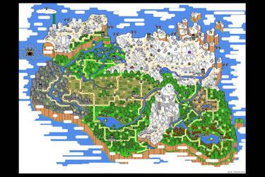 Super Dovahkiin World by jmeaney