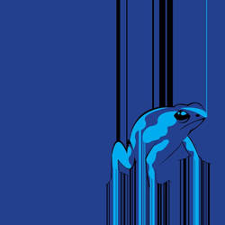 Barcode Frog by Toy---Soldier