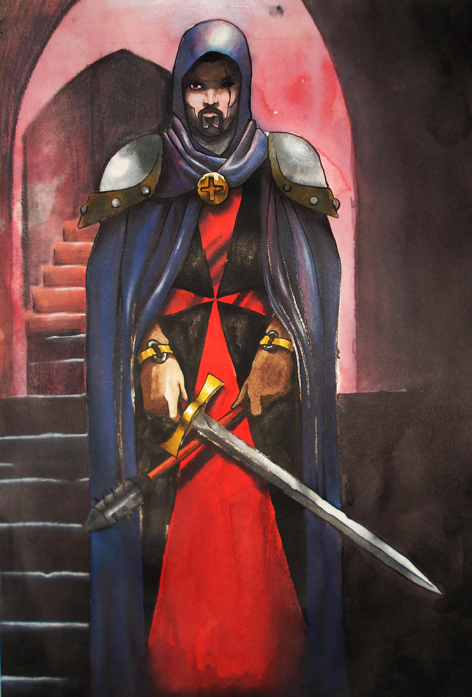 ricardoguzman, templar fantasy by ricardoguzman