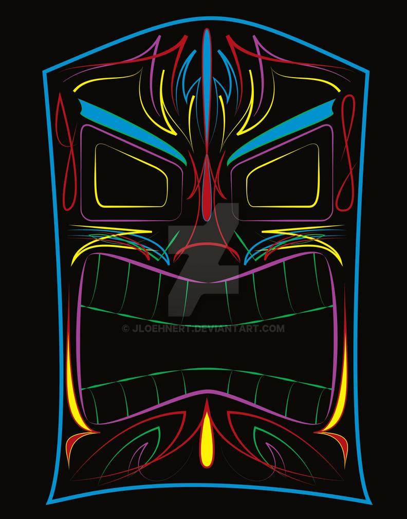 Tiki Mask By JLoehnert