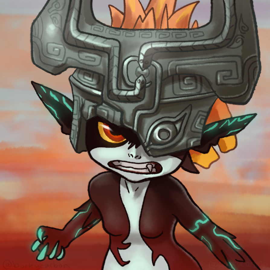 #ZeldaChallenge - Midna - Twilight Princess by InAmberClad