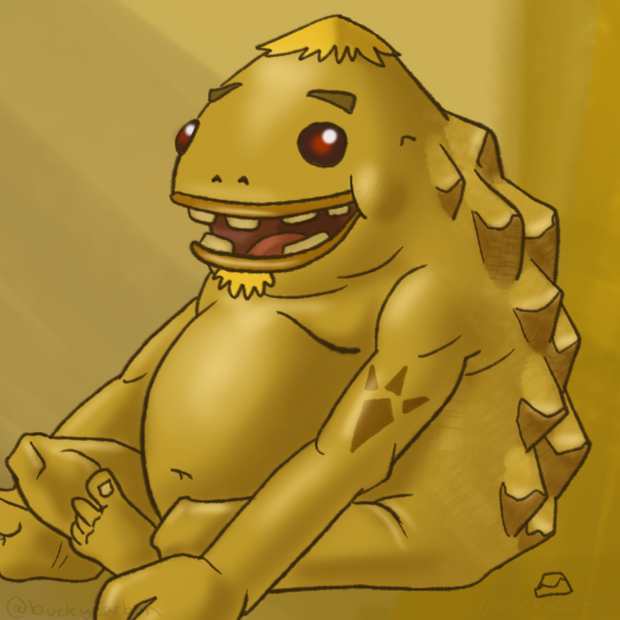 #ZeldaChallenge - Goron - Ocarina of Time by InAmberClad