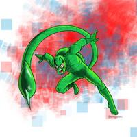 Inktober Villains Digital - Day 01 - #POISONOUS
