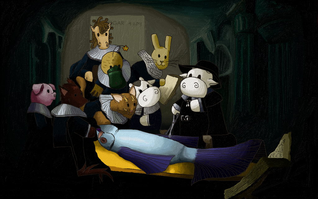 The Anatomy lesson of Dr. Moomie Cow by Jogar777 by jogar777 on ...